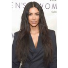 Kim Kardashian Celebrity WowEbony 6 Inches Deep Part Pre-Plucked Natural Wave 360 Lace Wigs 150% density,  Indian Remy Hair 360 Wig Pre-bleached knots [kim360]