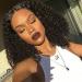 Glueless Full Lace Wigs Peruvian Virgin Hair Afro Curl