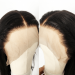 """180% density Brazilian Virgin Hair 360 Lace Wigs 22.5""""*4.5""""*2 hand tied with Wefts Top Wavy"""