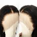 150% density Brazilian Virgin Hair 360 Lace Wigs Wavy 360 Wigs