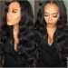 Glueless Full Lace Wigs Peruvian Virgin Hair Body Wave