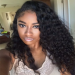 Lace Front Wigs Indian Remy Hair Curly Free Part [LFW020]