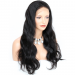 "6"" Pre-Plucked Indian Remy Hair 360 Lace Wigs 150% density Body Wave 360 Wig"