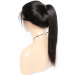 150% density Indian Remy Hair Pre-Plucked 360 Lace Wigs Yaki Straight