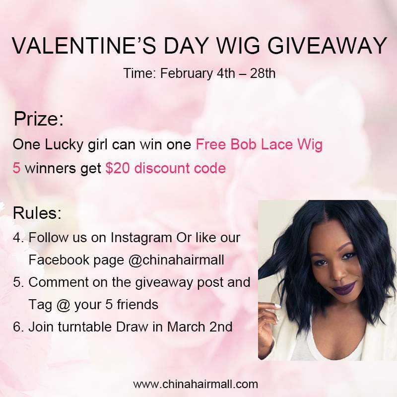 Monthly Giveaway Get Free Superior Quality Human Hair
