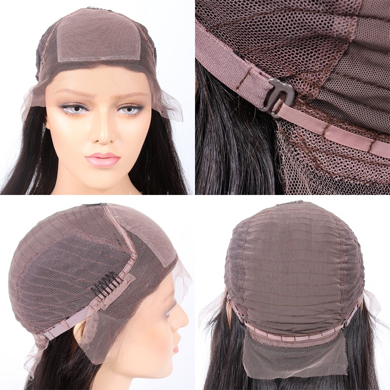 Glueless Silk Top Lace Front Wig Cap
