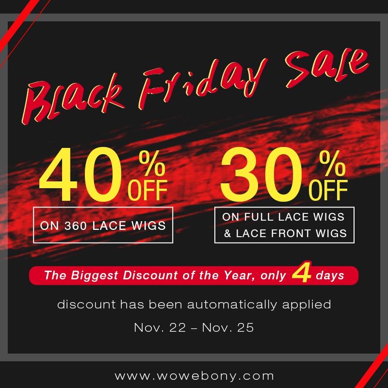 2018 Black Friday Sale