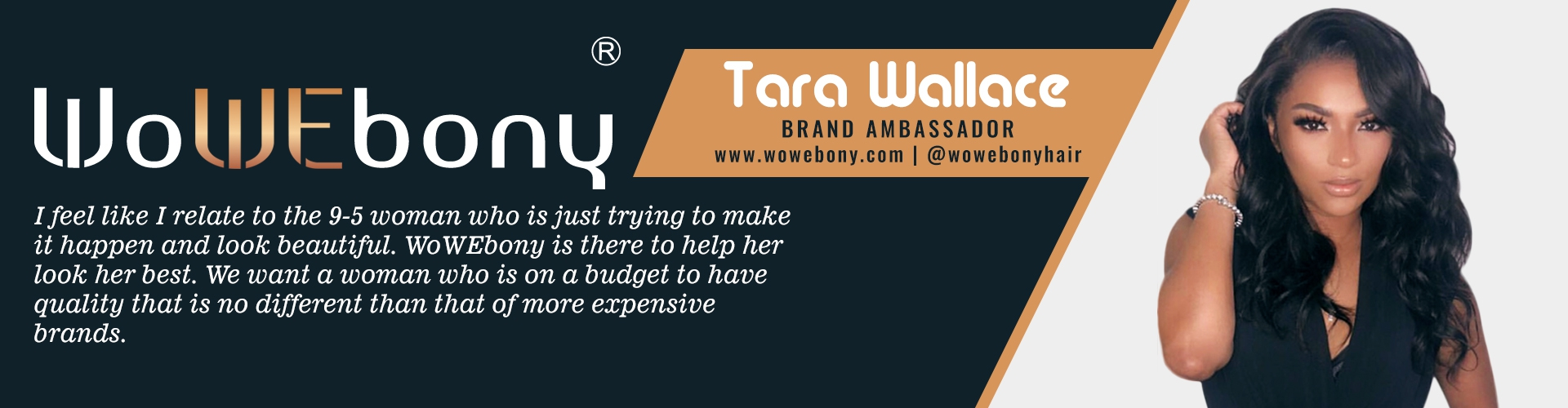 Tara Wallace Brand Ambassador